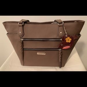 Rosetti Pebbled Leather Shoulder Bag